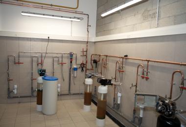 installation d'appareil de traitement de l'eau aquaeva